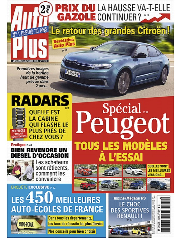 Auto Plus N1573 Du 26 Octobre 2018
